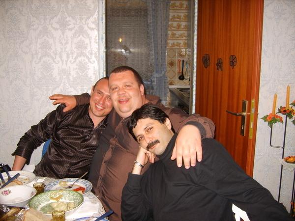 Виктор Горст, Батон, Робик Чёрный