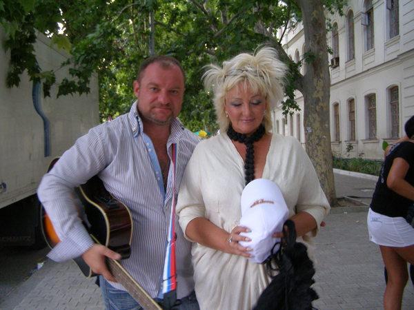 Андрей Жайворонков и Елена Палашек