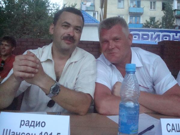 Дима Андрияшин и Саша Адмирал