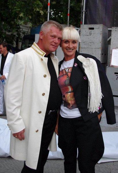 Саша Адмирал и Светлана Малахова