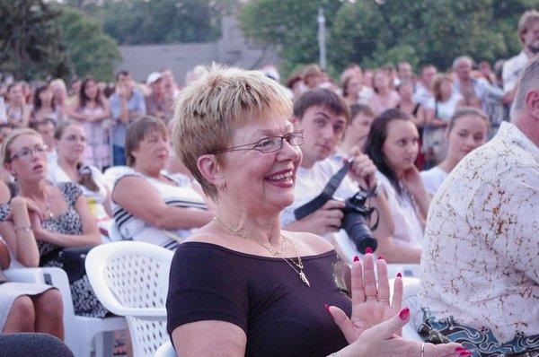 пл.Нахимова,гала-концерт, VIP зона, нас услышали более 5 000 !!!