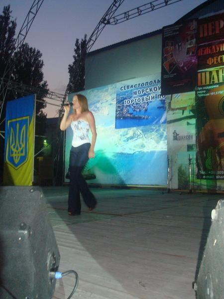 Таня Дяченко в конкурсный день