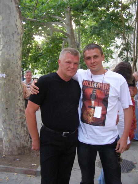 Саша Адмирал и Сергей Пискун