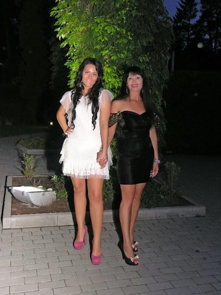 Оксана Билера и Наталья Верещагина