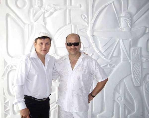 Юрий Белоусов и Александр Чусовитин