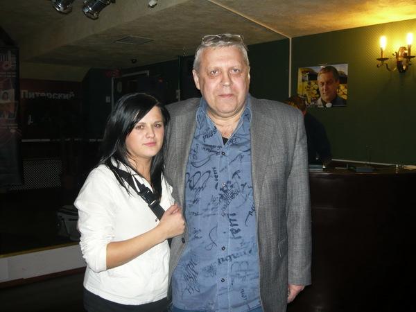 Геннадий Жаров и Настя Макарова