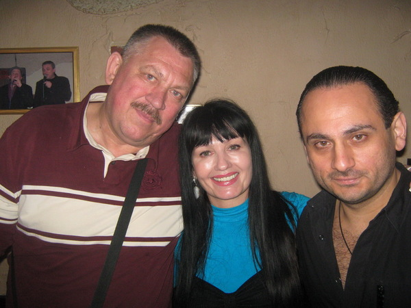 "трактир ""Бутырка"", концерт Г. Жарова - с Н. Билерой и Бернардом"