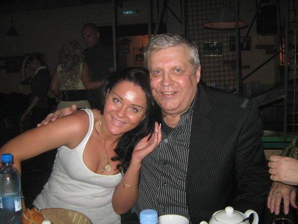 Оксана Билера с легендой шансона Г.Жаровым