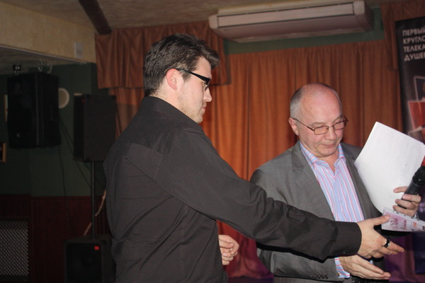 диплом участника конкурса получает - М. Забродский