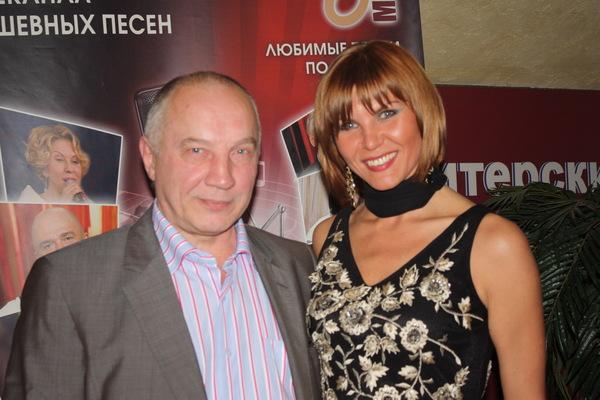 В. С. Окунев и Светлана Фед