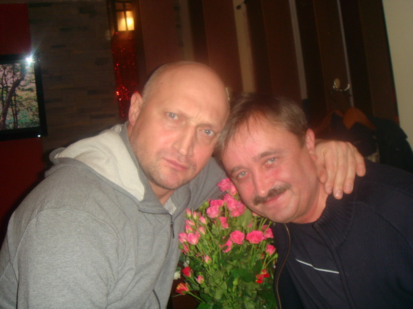 с братом Гошей Куценко