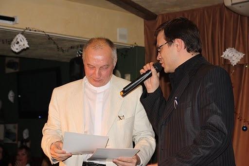 В. Окунев и Николай Орловский - организаторы конкурса