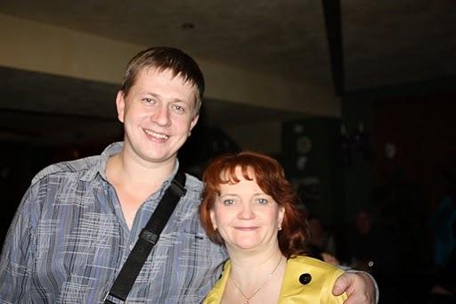 Михаил Кириллов и Ольга Титинина (автор фотоальбома)