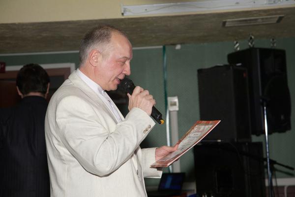 Председатель жюри В. С. Окунев