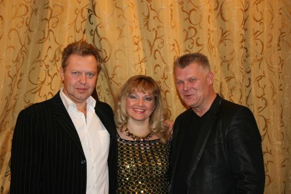 с Сергеем Князевым и Сашей Адмиралом