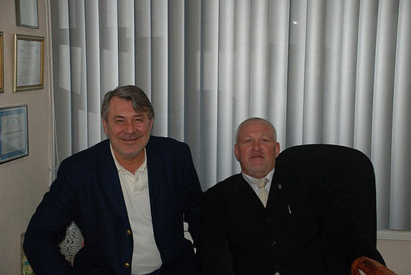 с Михаилом Орским - 16 лет дружбы
