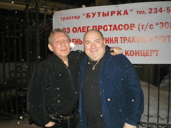 Михаил Грубов и Игорь Кабаргин