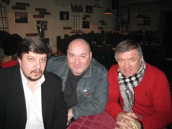 Владимир Стольный, Игорь Кабаргин, Сергей Чернышёв