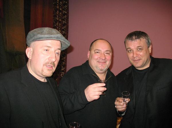 Жека, Игорь Кабаргин и Александр Дюмин