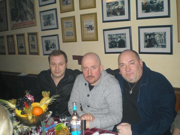 с Жекой и И. Кабаргиным