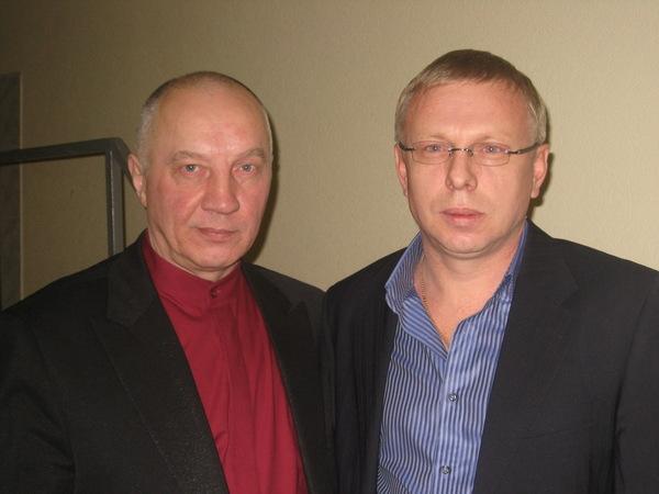 В. Окунев и Владимир Двинской