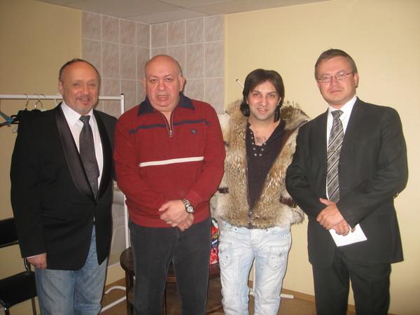 А. Тукиш, З. Бельский, А. Марцинкевич, Н. Орловский