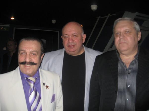 Вилли Иванович Токарев, Зиновий Бельский, Геннадий Жаров