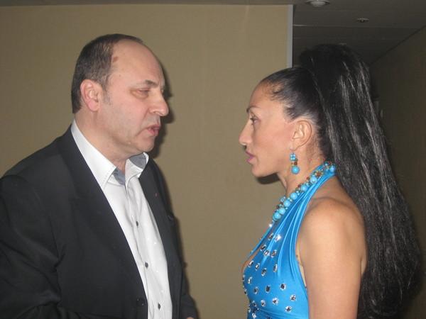 Борис Родин и Афина