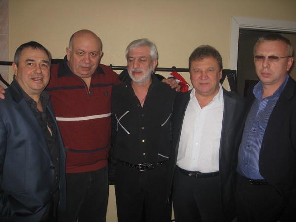 Федя Карманов, Зиновий Бельский, Ефрем Амирамов, Анатолий Полотно, Владимир Двинской