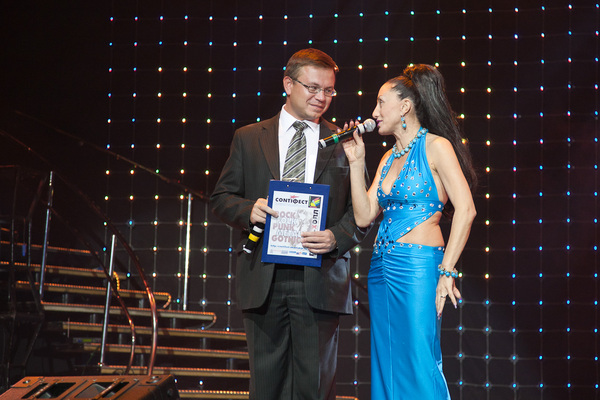 Николай Орловский и Афина