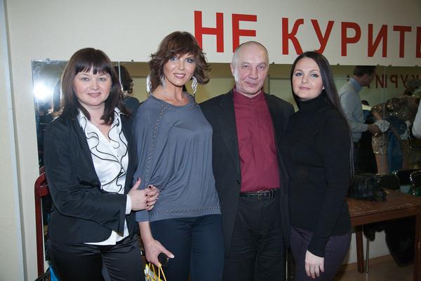 Оля Вольная, Светлана Фед, Владимир Окунев, Мила Руденская