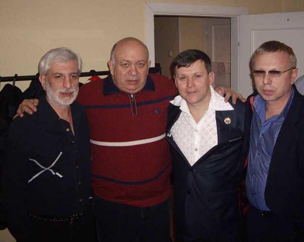 Ефрем Амирамов, Зиновий Бельский, Юрий Белоусов, Владимир Двинской