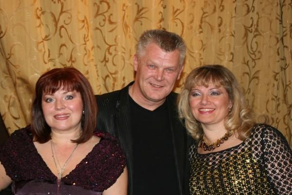 Елена, Саша Адмирал и Ирина Владимирова
