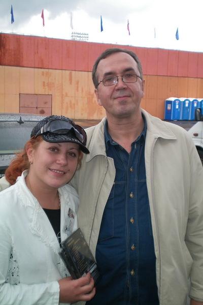 с Оксаной Орловой в Твери