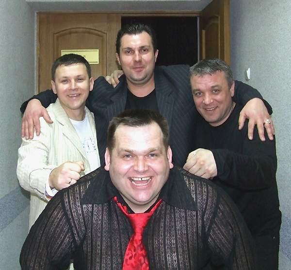 Пётр Банашко, Юрий Белоусов, Анатолий Корж и Александр Дюмин