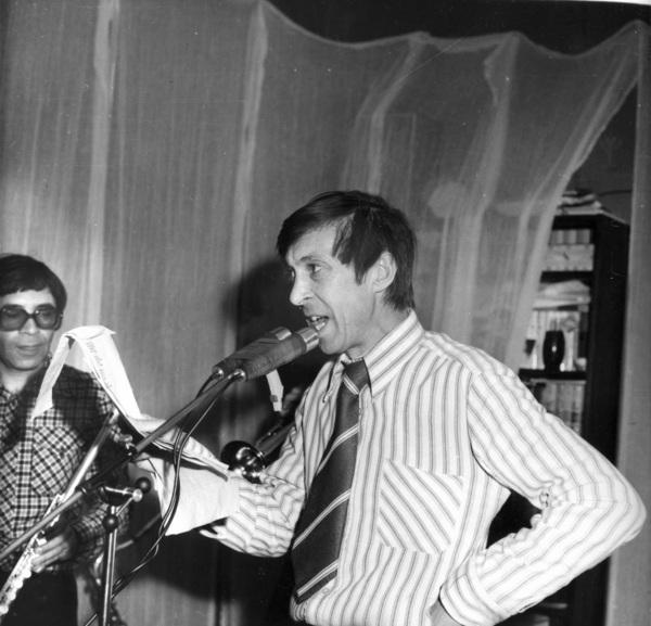 """Запись альбома """"Проводы"""" - 22.12.1977 г."""