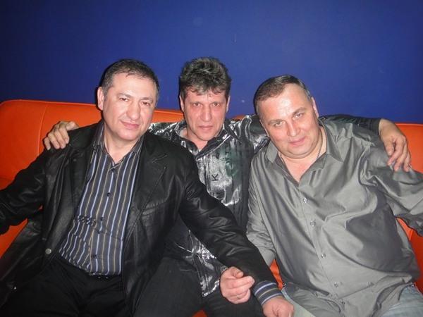 Борис Шварцман, Виктор Дыкало и Геннадий