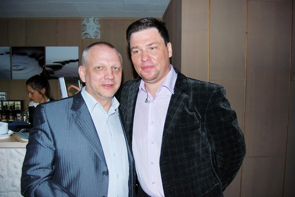 с Виктором Мосиным - г. Псков
