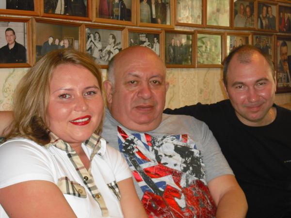 с Зиновием Бельским и Николаем Пищуловым в Музее шансона 21.05.2011 г.