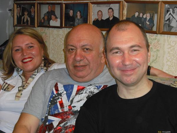 с Любой Покровской и Николаем Пищуловым в Музее шансона 21.05.2011 г.