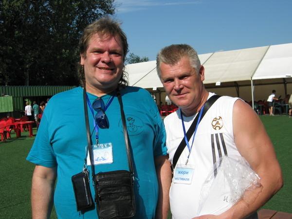 Олег Баянов и Саша Адмирал
