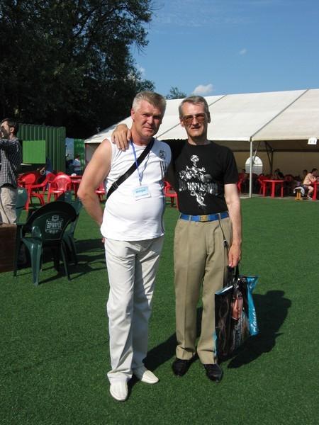 Саша Адмирал и Юрий Ткачёв