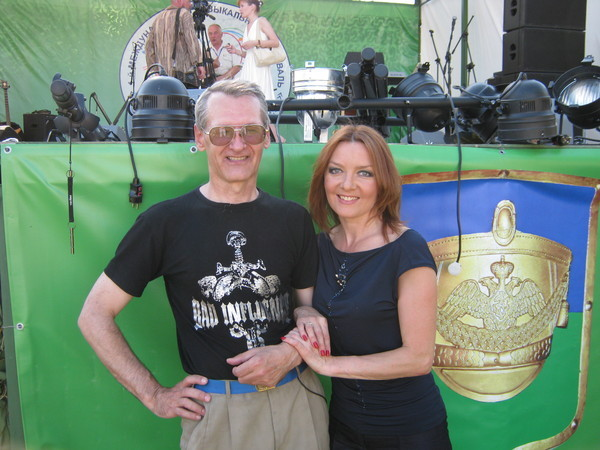 Юрий Ткачёв и Таня Дяченко