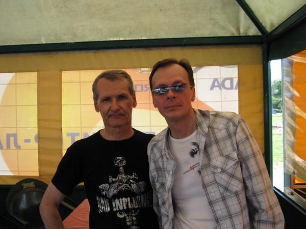 Юрий Ткачёв и Игорь Латышко