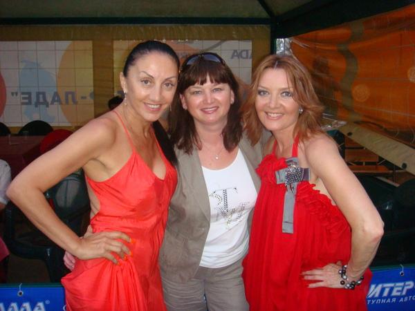 Афина, Оля Вольная и Таня Дяченко