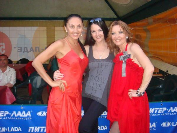 Афина, Мила Руденская и Таня Дяченко