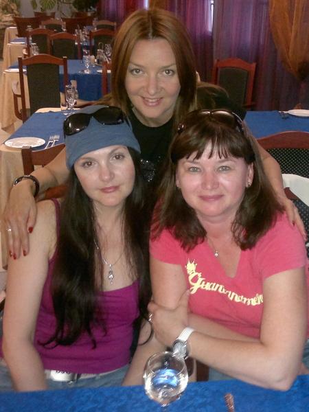 Мила Руденская, Оля Вольная и Таня Дяченко