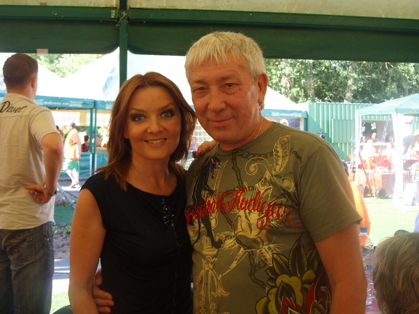 Таня Дяченко и Леонид Телешев