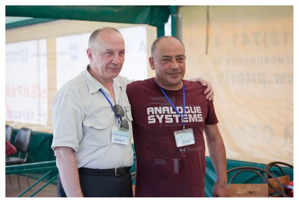 В. С. Окунев и Степан Арутюнян