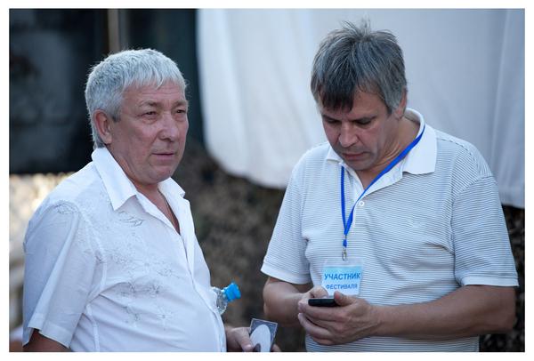 Леонид Телешев и Вадим Годыненко